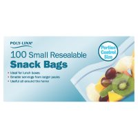 Poly-Lina small resealable snack bags