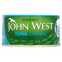 John West pole & line caught tuna chunks in brine