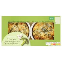 Waitrose Crustless Green Vegetable Quiche