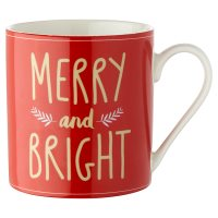 Waitrose Merry & Bright Mug