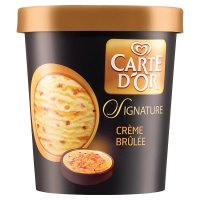 Carte D'Or Signature crème brulee ice cream