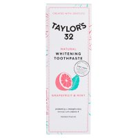 Taylor's 32 Natural Whitening Toothpaste Grapefruit & Mint