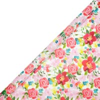 Waitrose 2metre Roll Painted Flowers
