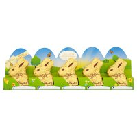 Lindt gold white chocolate bunny 5 pack