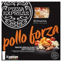 Pizza Express Romana Pollo Forza