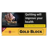 Gold Block Pipe Tobacco Pouch 40g #