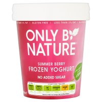 Only By Nature Summer Berry Frozen Yogurt