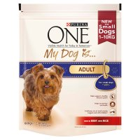 Purina ONE My Dog Is Adult beef & rice dry food