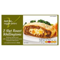 Waitrose Frozen 2 Nut Roast Wellingtons