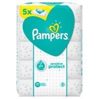 Pampers Sensitive Refill 5x56 280 Wipes