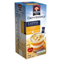 Quaker Oat So Simple Cuppa golden syrup porridge cereal sachets