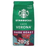 Starbucks caffè Verona dark ground coffee