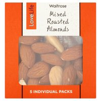 Waitrose LoveLife Mixed Roasted Almonds