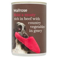 Waitrose beef with country vegetables in gravy