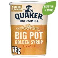 Quaker Oats Oat So Simple Golden Syrup Big Pot