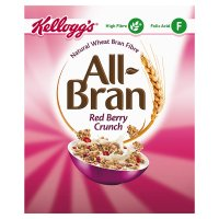 Kellogg's all-bran red berry crunch