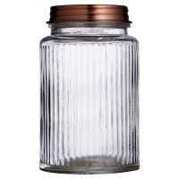 Waitrose Glass Jar with Copper Lid Small