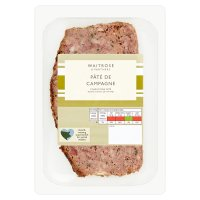 Waitrose French pâté de campagne, coarse pork pate with onion & thyme
