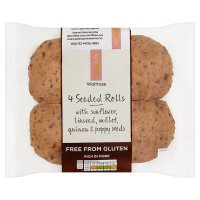 Waitrose LoveLife Gluten Free seeded rolls