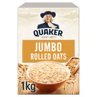 Quaker jumbo original rolled oats porridge