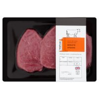 Waitrose 1 30 day dry aged Hereford beef minute steaks