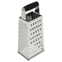 Waitrose Cooking steel box grater