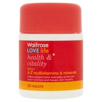 Health & vitality A-Z multivitamins