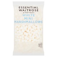 essential Waitrose mini white marshmallows