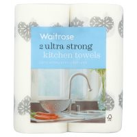 Waitrose 2 Ultra Stong Kitchen Towels