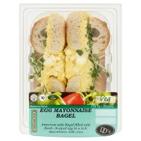 DDs Egg Mayonnaise Bagel