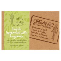 Little soap company English peppermint with poppyseeds