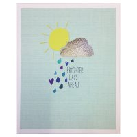 Waitrose Bright Days Ahead Thinking of You Card