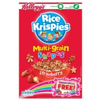 Kellogg's rice krispies multi-grain shapes strawberry
