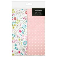 Waitrose Happy Birthday Floral Gift Wrap
