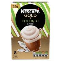 NESCAFE Cafe Menu Coconut Latte Coffee 8 Sachets