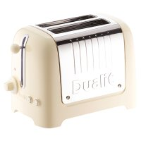 Dualit gloss cream lite 2 slice toaster