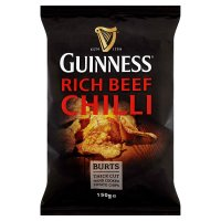 Burts Guinness Rich Beef Chilli Potato Chips