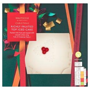 Waitrose luxury christmas cake recipe