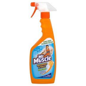 Mrmuscle bathroom toilet cleaner waitrose for Mr muscle bathroom and toilet cleaner
