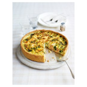 Salmon & Watercress Quiche - Waitrose
