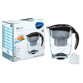 brita elemaris extra large water filter jug waitrose. Black Bedroom Furniture Sets. Home Design Ideas