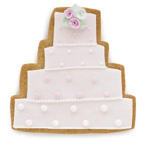 Waitrose Polka Dot Wedding Cake