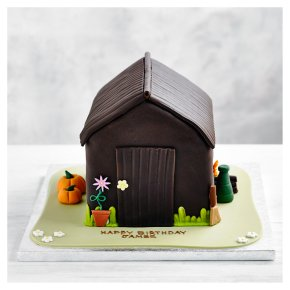Fiona Cairns Potting Shed Chocolate Sponge Cake - Waitrose