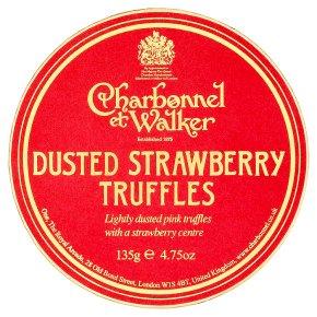 Charbonnel walker dusted strawberry truffles waitrose for Strawberry truffles recipe uk