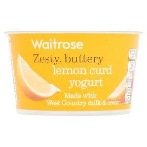 how to make lemon curd yogurt