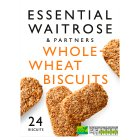 Essential Waitrose - Wholewheat Biscuits - 24s