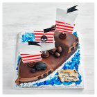 Pirate Ship Cake - each