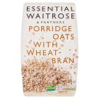 Essential Waitrose - Porridge Oats with Wheatbran - 1kg
