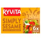 Ryvita crispbread with sesame seed - 250g Brand Price Match - Checked Tesco.com 27/07/2015