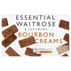 essential Waitrose Bourbon creams - 400g